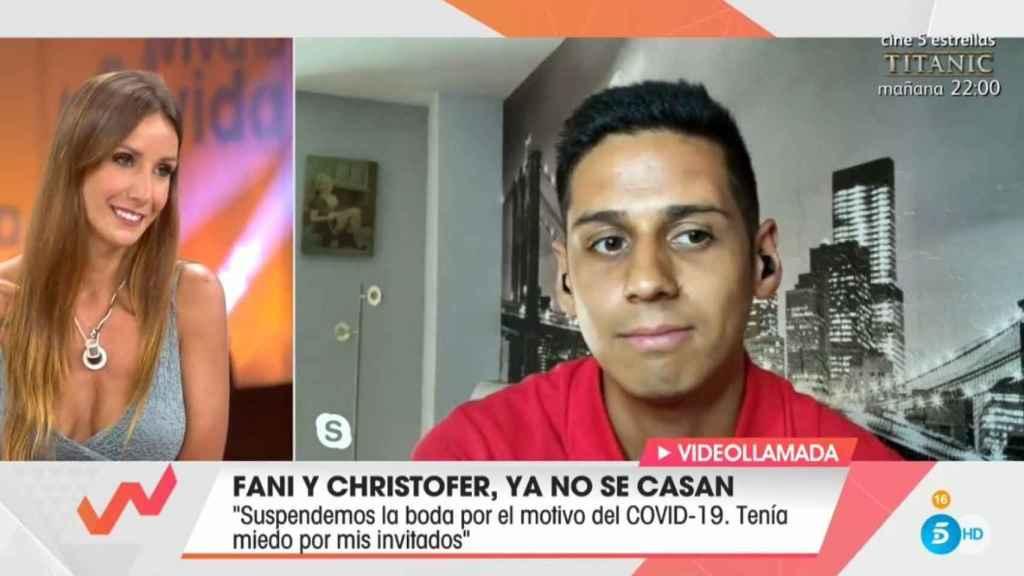 Fani y Christofer en 'Viva la vida'.