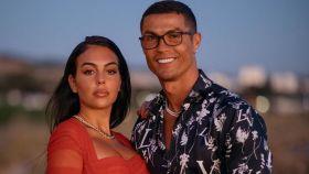 Georgina Rodríguez y Cristiano Ronaldo.