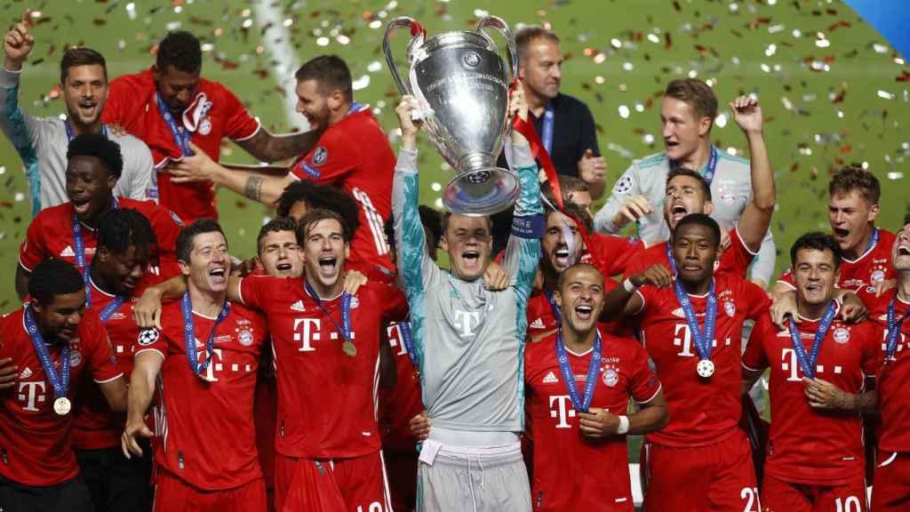 El Bayern Múnich, campeón de la Champions League 2019/2020