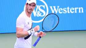 Andy Murray celebra su victoria en Cincinnati