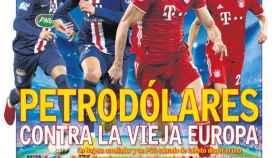 La portada del Diario As (23-08-2020)