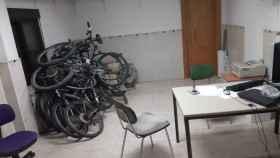 Una de las salas de las dependencias del Instituto Armado.