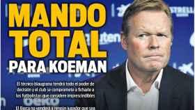 La portada del diario SPORT (24/08/2020)