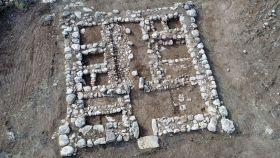 restos de un fuerte canaanita de hace 3.200 años.