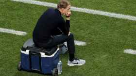 Thomas Tuchel, en la final de la Champions League