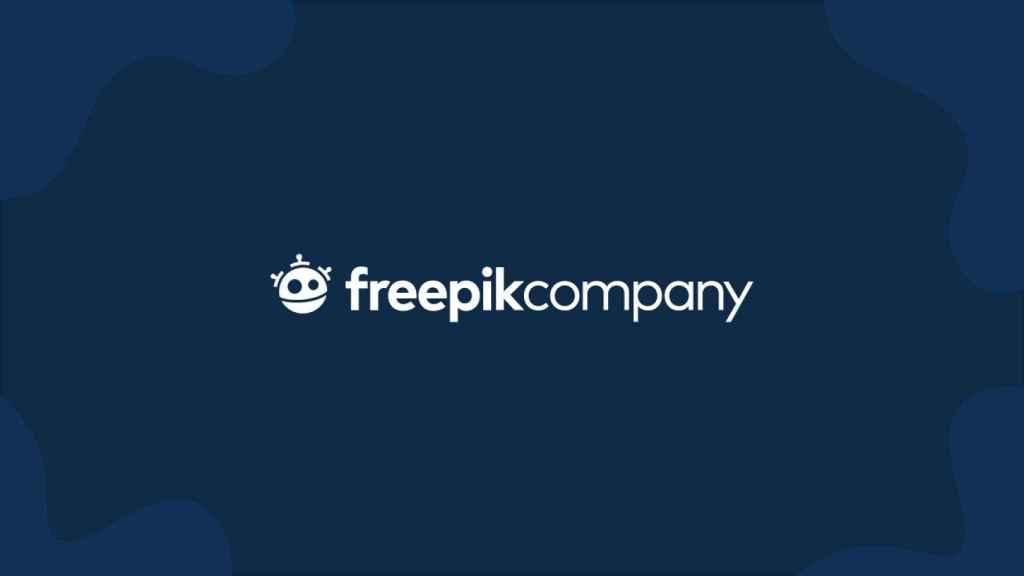Logo de Freepik Company.