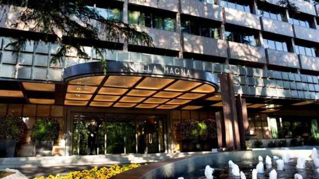 Imagen del Hotel Villa Magna antes de su renovación.