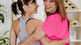 Raquel López, CEO de MAMIfit, y Toñi Moreno.