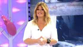 Carlota Corredera, en la última emisión de 'Hormigas Blancas'.