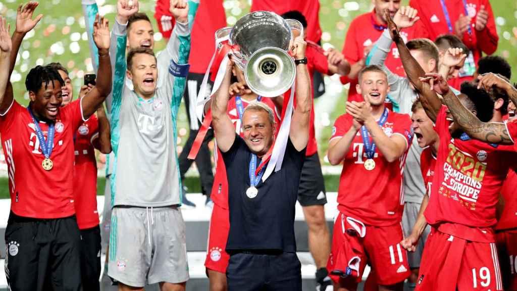 Hansi Flick levanta la Champions League