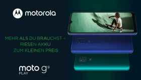 Nuevo Motorola Moto G9 Play: la máxima batería a toda costa