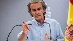 Fernando Simón, comparece en rueda de prensa para dar cuenta de los últimos datos de la pandemia.