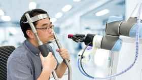 Prueba PCR automática usando un robot
