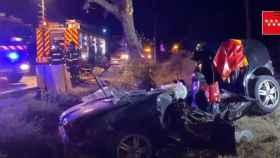 Fallecen tres personas en un accidente en Móstoles y los ocupantes de uno de los vehículos se dan a la fuga