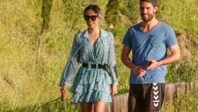 Gloria Camila y su novio, en una imagen de este verano.