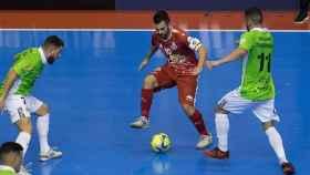 Partido de fútbol sala entre El Pozo y Palma Futsal