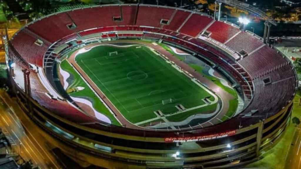 Estadio Morumbí, en Sao Paulo (Brasil)