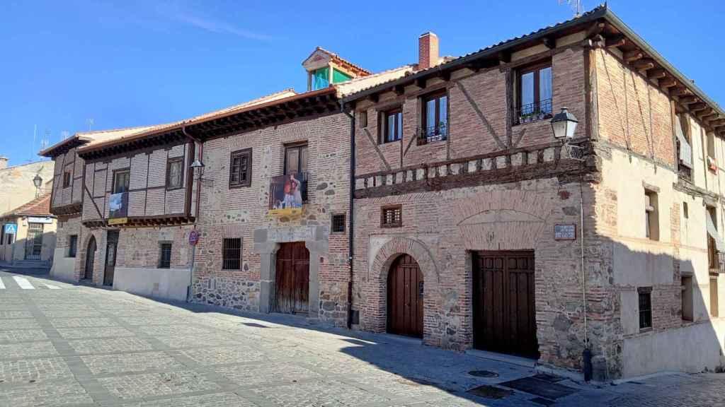 Casa tradicional segoviana, foto tomada con el Realme C11