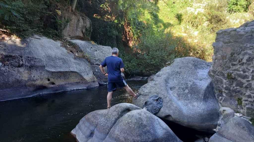 Río Eresma, foto tomada con el Realme C11