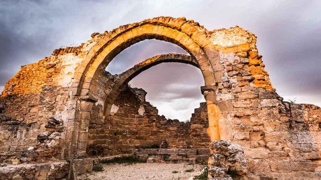Restos de la basílica de Recópolis.