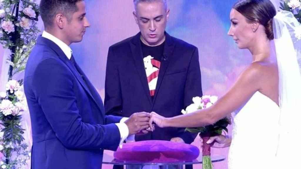 La boda ficticia entre Fani Carbajo y Christofer Guzmán no ha logrado enganchar a la audiencia.
