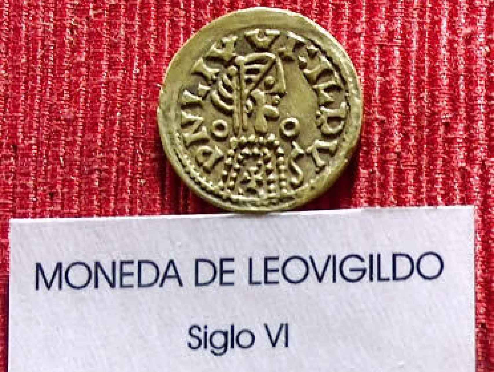 Moneda acuñada en el siglo VI.