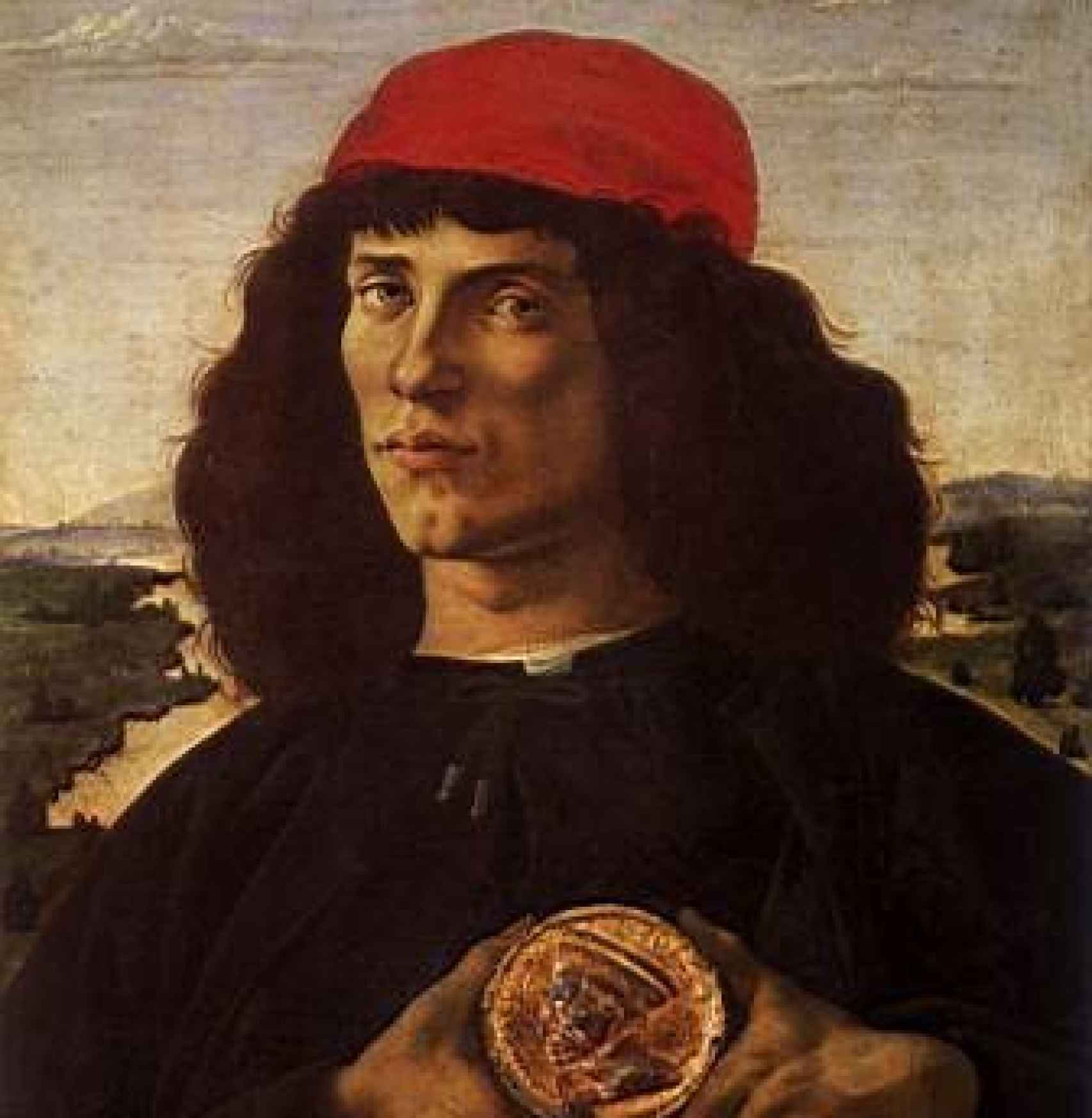 Retrato de Pico della Mirandola.