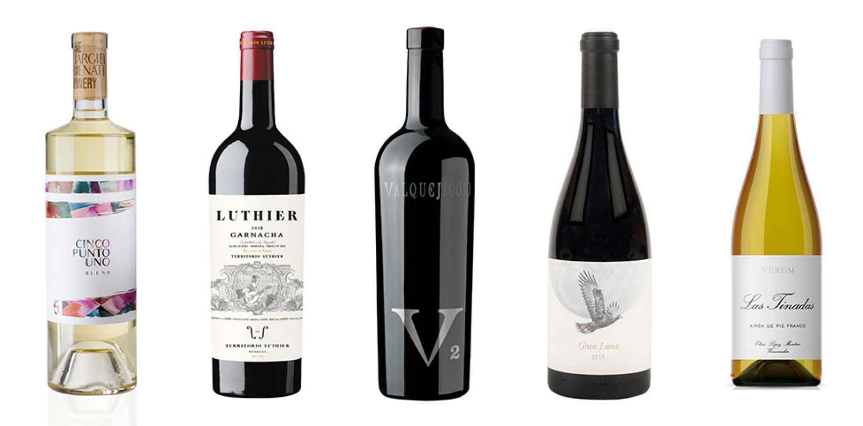 Cinco grande vinos sin D.O.