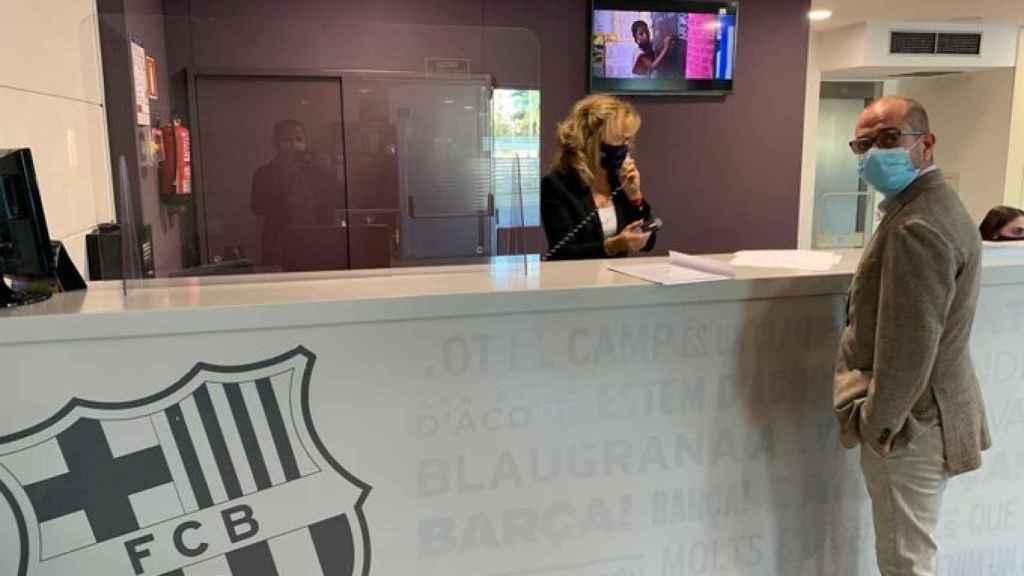 Jordi Farré inicia los trámites para una moción de censura contra Bartomeu