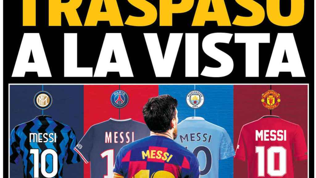 Portada del diario Sport 27-08-2020