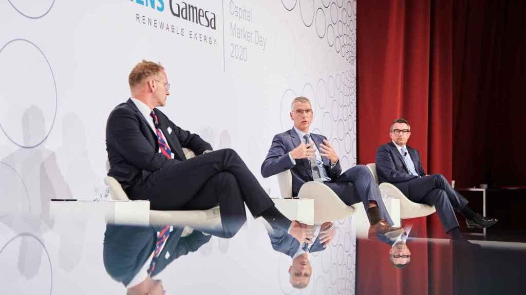 Andreas Nauen, CEO de Siemens Gamesa en el Investor Day 2020 1