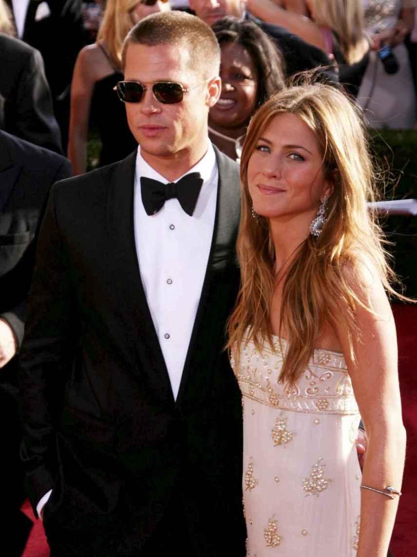Brad Pitt y Jennifer Aniston, en una imagen de archivo.