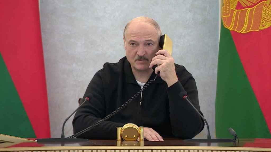 El líder Alexander Lukashenko, hace unos días en Minsk.
