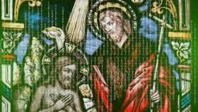 Montaje de un Jesucristo artificial