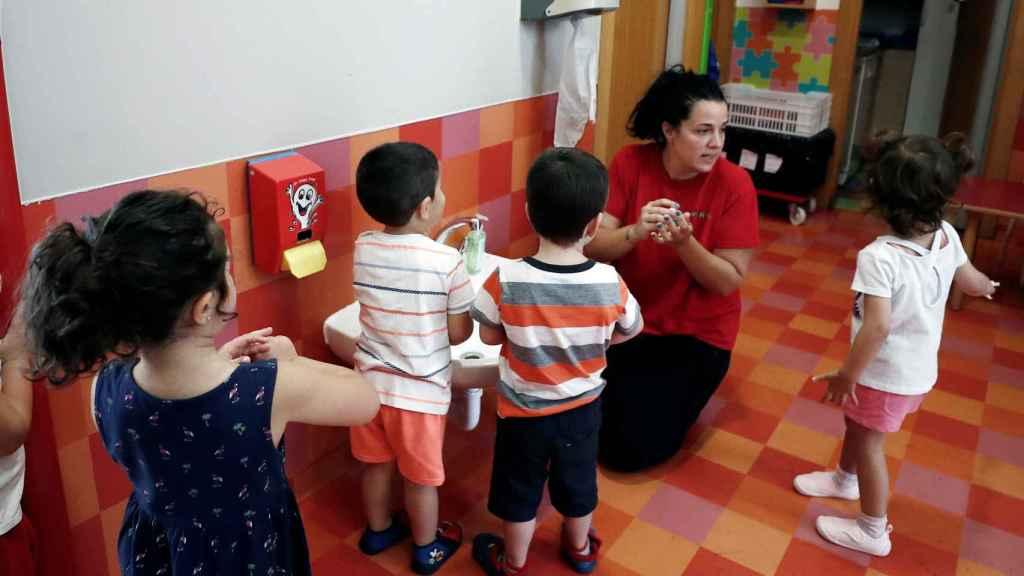 Un aula de infantil.