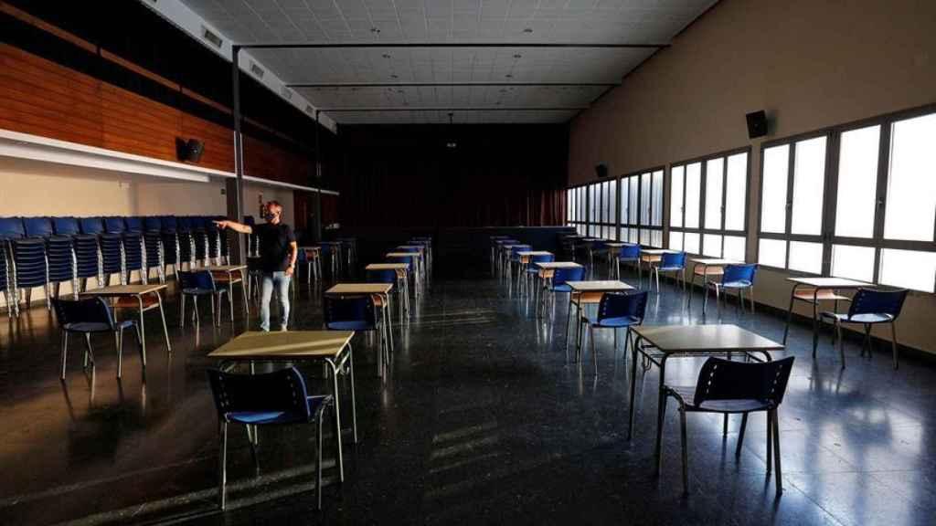 Los colegios valencianos adaptan sus dependencias a la inminente vuelta al cole