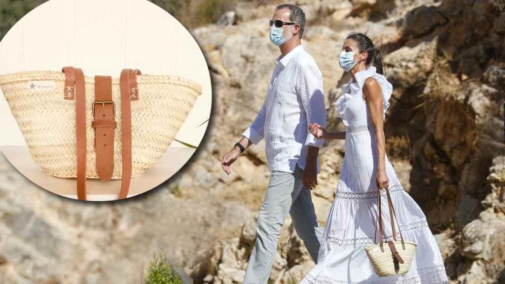 El bolso que cada verano saca a pasear durante sus vacaciones en Palma.