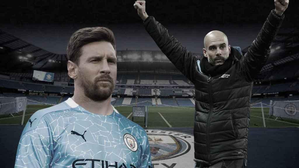 Messi, Guardiola y su posible reencuentro en el Manchester City