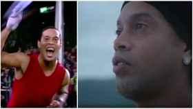 Ronaldinho reaparece y enseña el 'teaser' de su película