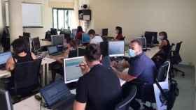 Un equipo de rastreadores (Europa Press).