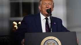 El presidente de Estados Unidos, Donald Trump, al cierre de la Convención Republicana. Efe