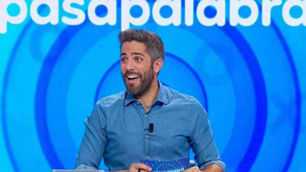 Roberto Leal, presentador de 'Pasalabra' (Antena 3).