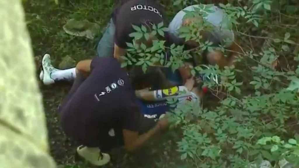 Investigan qué había en el bolsillo de Remco Evenepoel tras su accidente