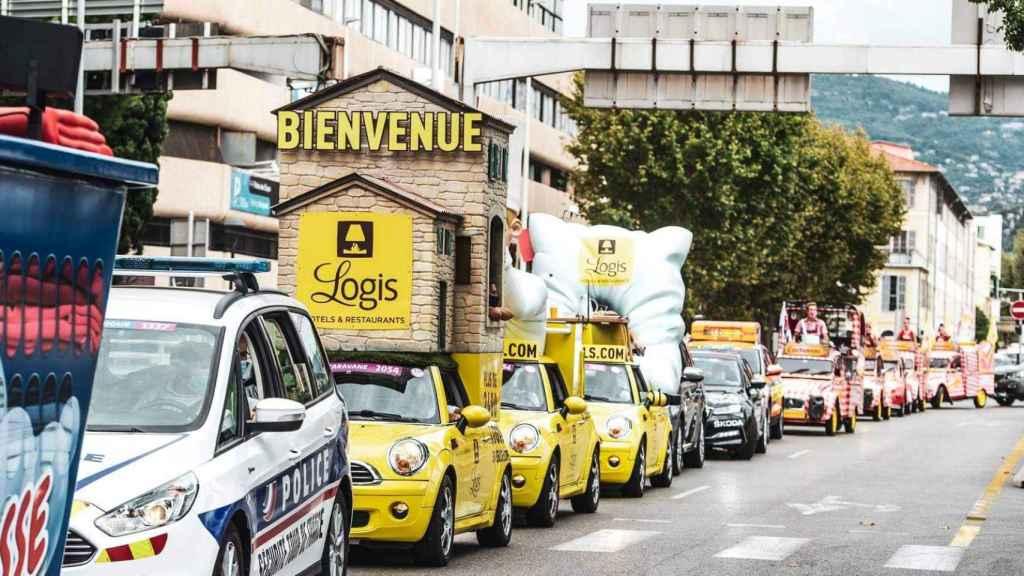 La Caravana del Tour de Francia
