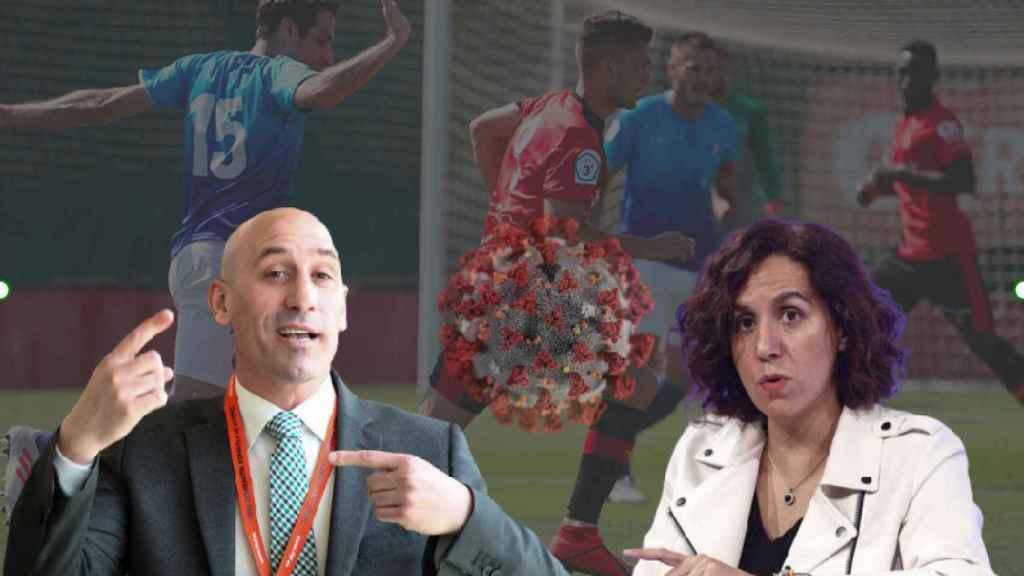 El fútbol no profesional, paralizado por el protocolo del CSD: Tendrá que ser la Federación quien lo pague