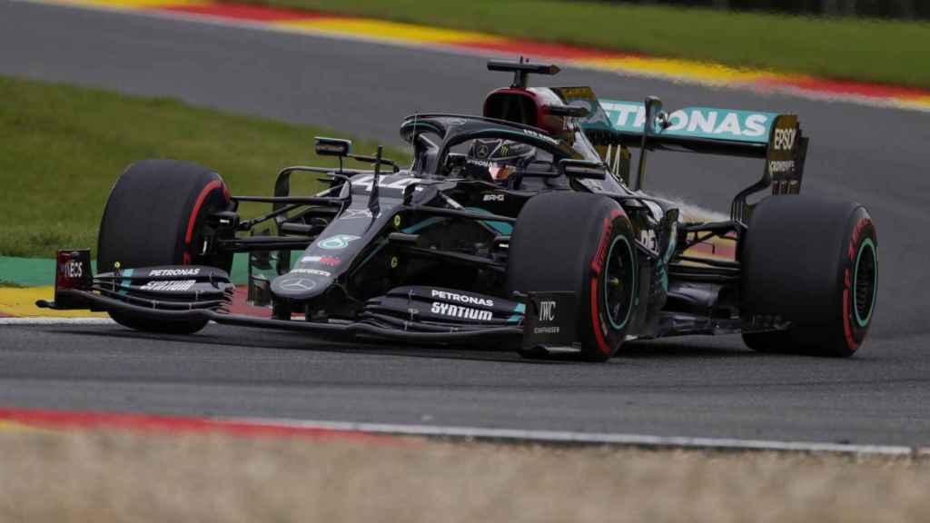 Hamilton en el Gran Premi de SPA