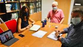 FOTO: Reunión entre el PP y el Colegio de Enfermería.