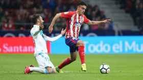 FOTO: Carlos Isaac, en un partido con el Atlético.