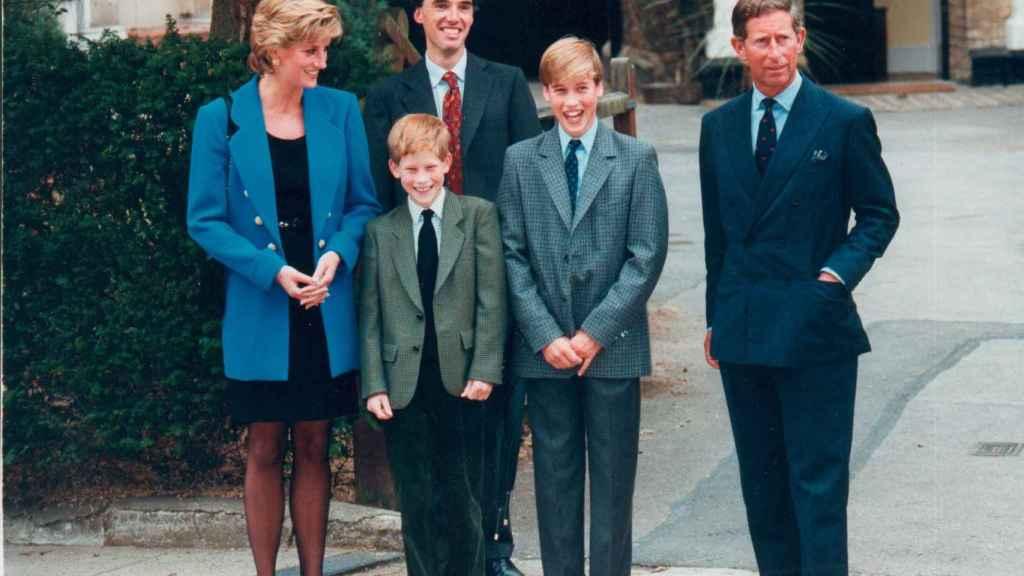Lady Di siempre se mostró muy orgullosa de sus dos hijos, que eran toda su vida.