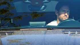 Leo Messi, en el interior de su coche